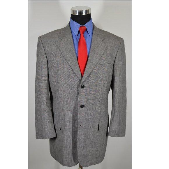 Moda Prima Other - Moda Prima 40R Sport Coat Blazer Suit Jacket Gray